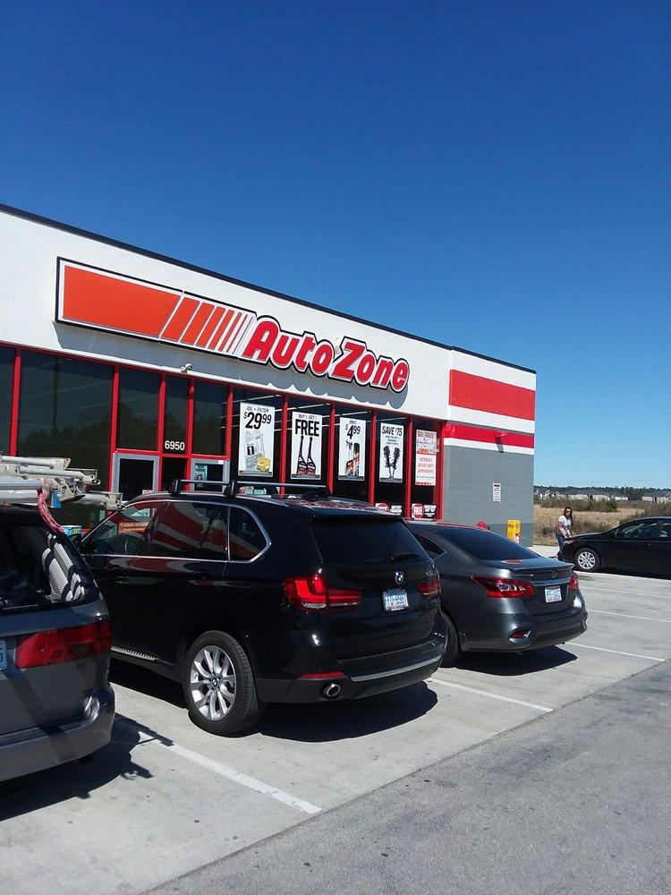 Autozone: 6950 Western Blvd, Jacksonville, NC
