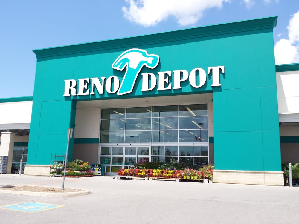 Reno depot magasins de bricolage 140 first commerce for Fenetre reno depot