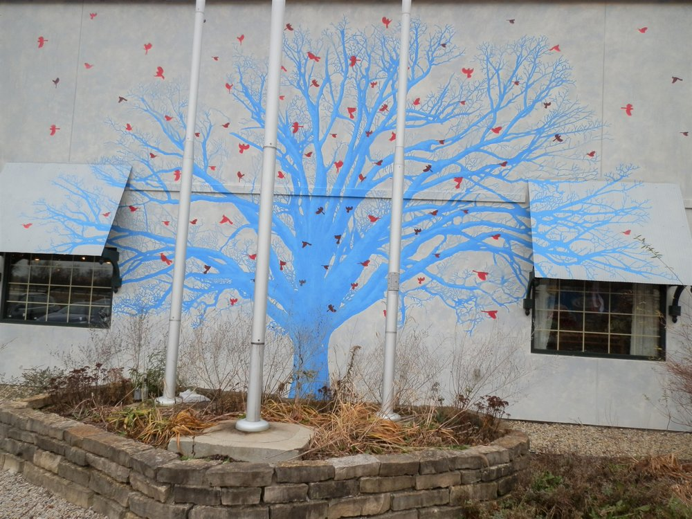 Indiana Natives Mural: 2131 N Centerville Rd, Centerville, IN