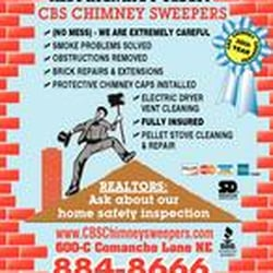 CBS Chimney Sweepers & Fireplace Accessories - Chimney Sweeps ...