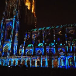 illuminations de la cath drale de strasbourg 28 photos. Black Bedroom Furniture Sets. Home Design Ideas