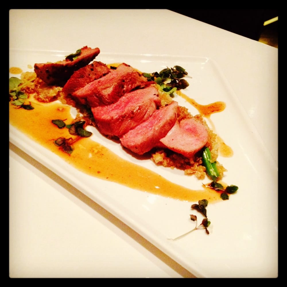 Duck breast with quinoa yelp - Modern american cuisine ...