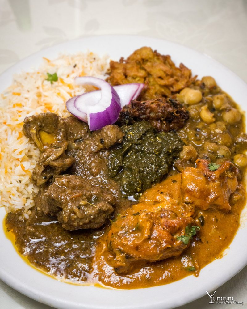 This was a tasty plate of food yelp for Aroma fine indian cuisine toronto on canada