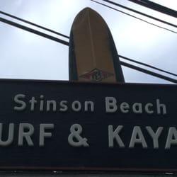 Stinson Beach Surf Kayak Stinson Beach Ca
