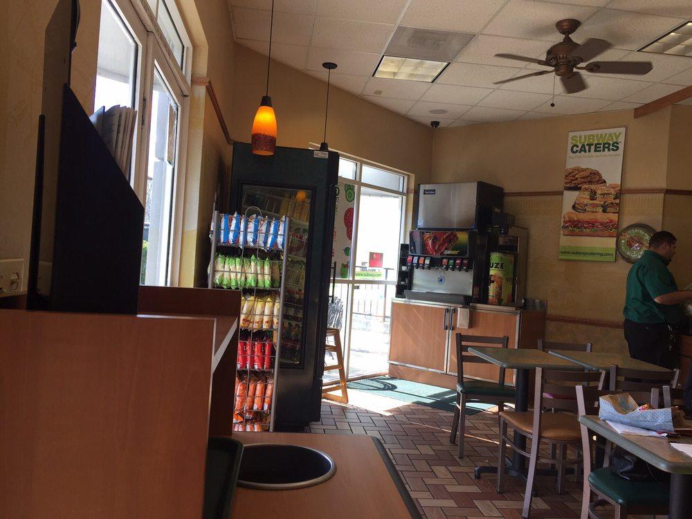 Subway Restaurants Mountain View Ca