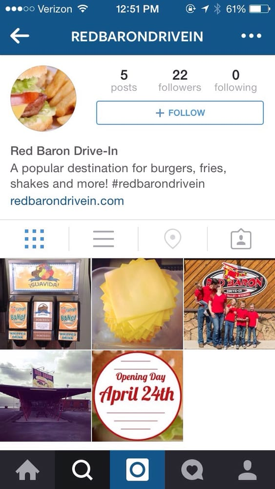 Red Baron Drive-In: 838 S Washington St, Afton, WY