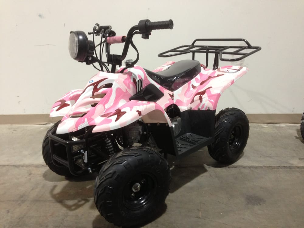 Youth 110cc Four Wheeler w/ Wireless remote kill and start, throttle