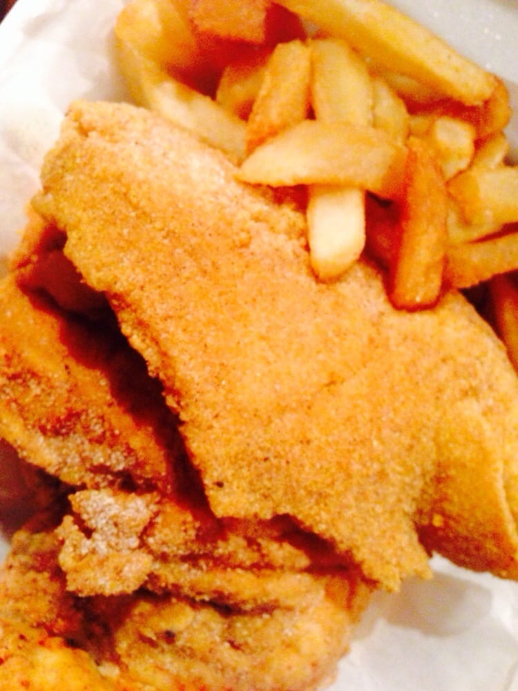 Fried tilapia chicken breast and fries yelp for Hip hop fish and chicken