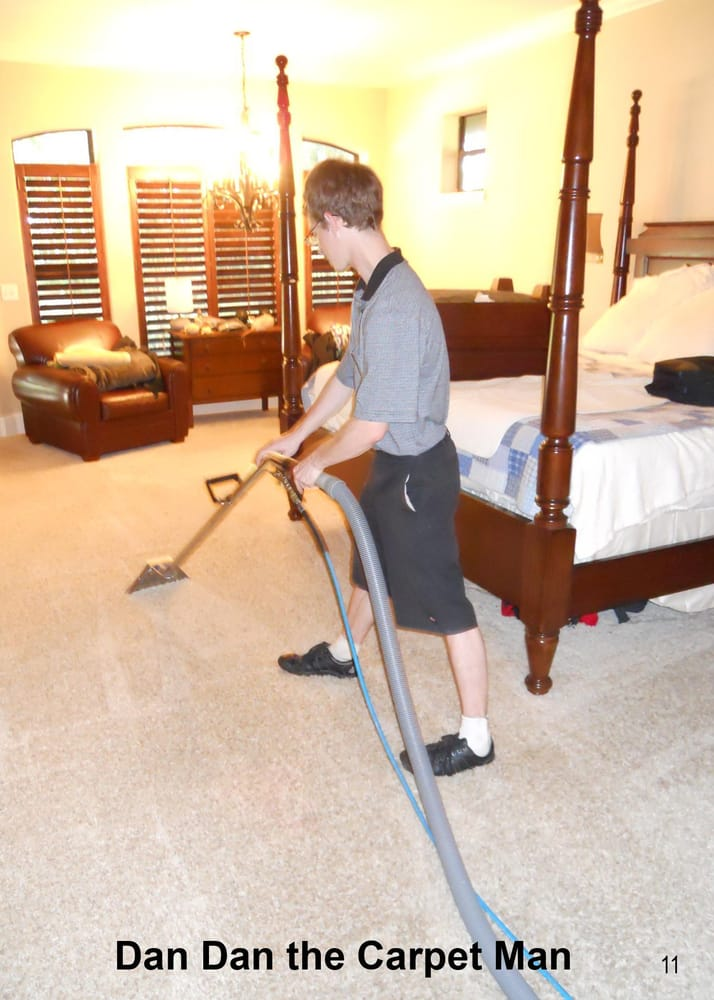 Dan Dan The Carpet Man Technicians Carefully Clean Your