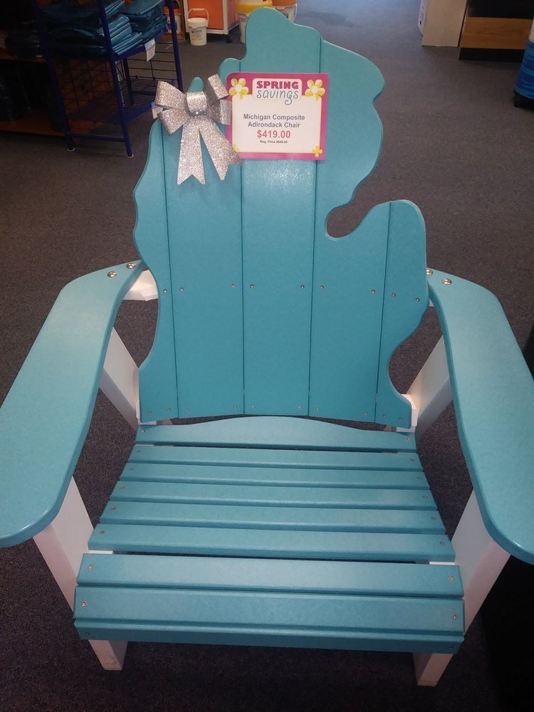 Love This Mi Shaped Adriondack Chair Yelp