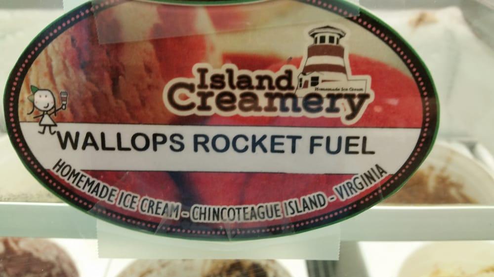 Wallop Rocket Fuel   chocolate ice cream with cinnamon and chili