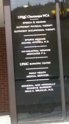 UPMC Chautauqua WCA Hospital 207 Foote Ave Jamestown, NY