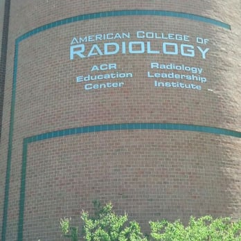 acr american college of radiology colleges universities 1891
