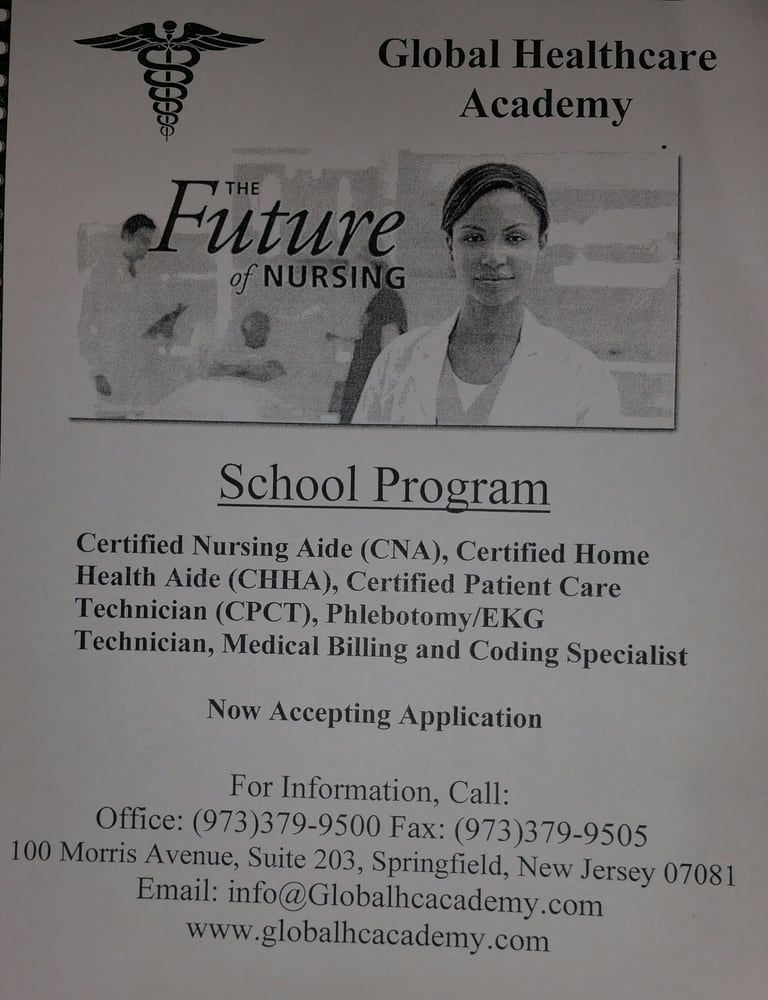 Global Healthcare Academy Nursing Schools 100 Morris Ave