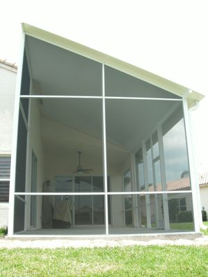 Photo Of Affordable Screen Rooms   Port St. Lucie, FL, United States.  Insulated Roof Screen Room