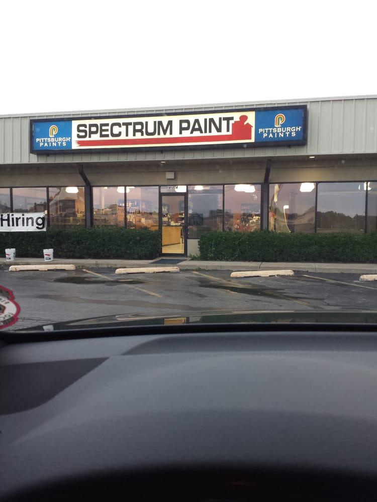 spectrum paint paint stores 10807 s memorial dr tulsa