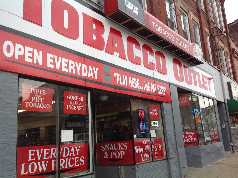Tobacco Outlet: 4501 Liberty Ave, Pittsburgh, PA