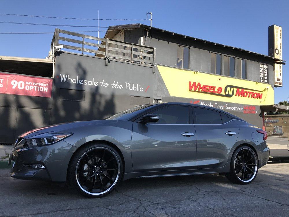 2017 Nissan Maxima On 22 Blaque Diamond Wheels Style Bd23 With