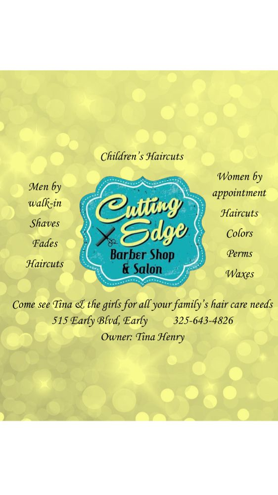 Cutting Edge Barber Shop & Salon: 515 Early Blvd, Early, TX
