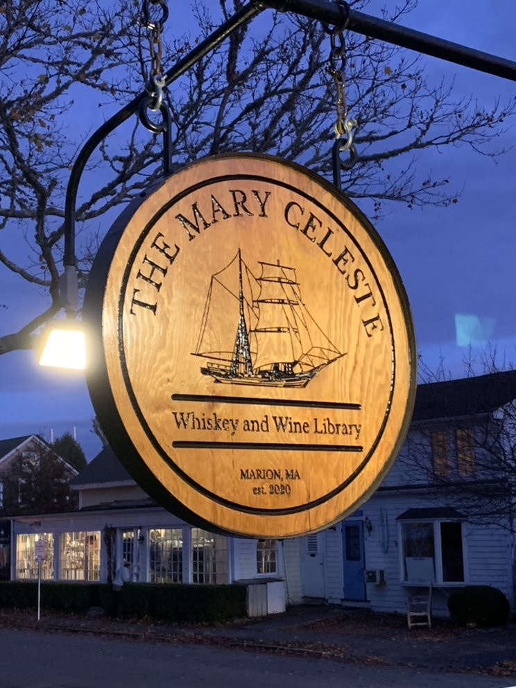 The Mary Celeste Whiskey and Wine Library: 7 Cottage St, Marion, MA