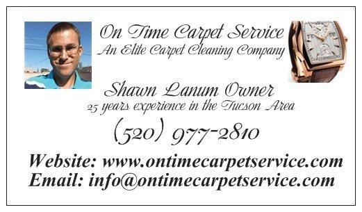 On Time Carpet Service