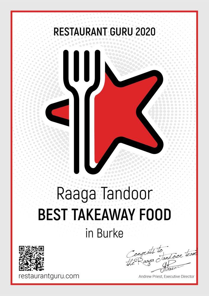 Raaga Tandoor: 6030 Burke Commons Rd, Burke, VA