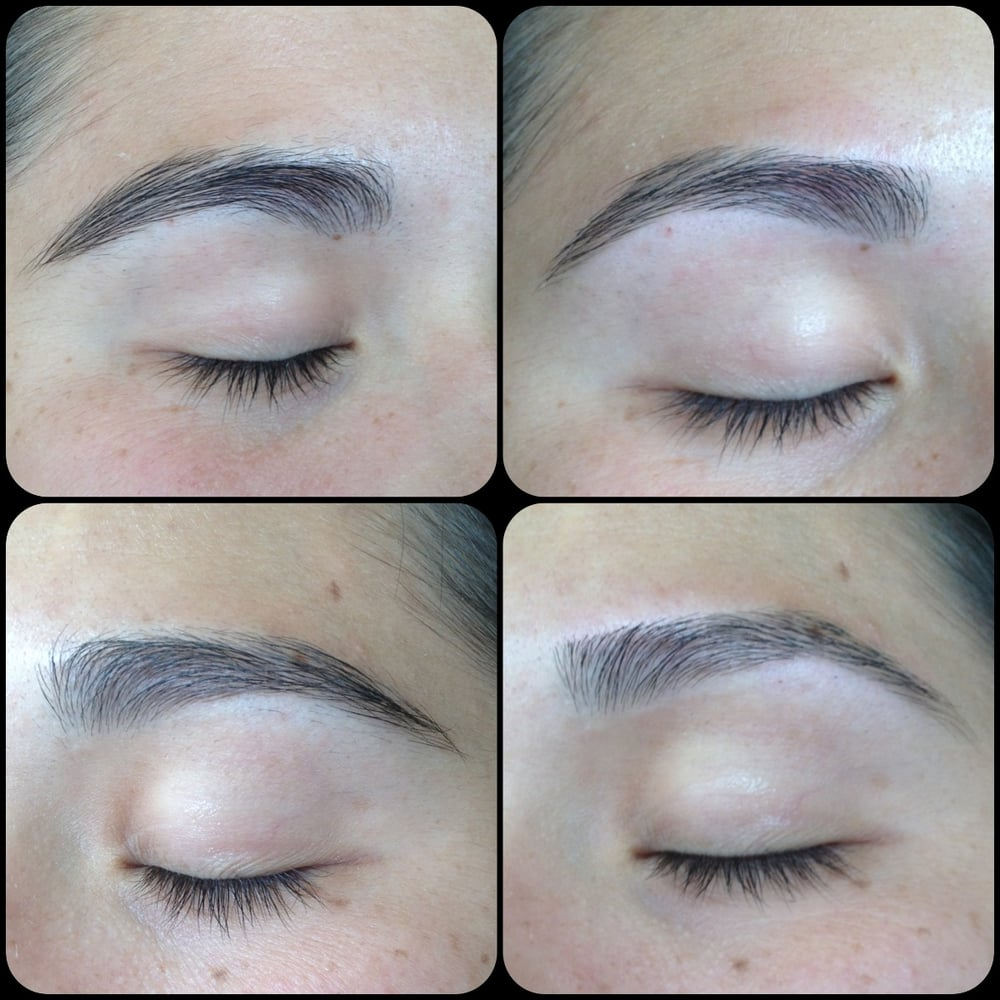 before and after brow waxing - Yelp