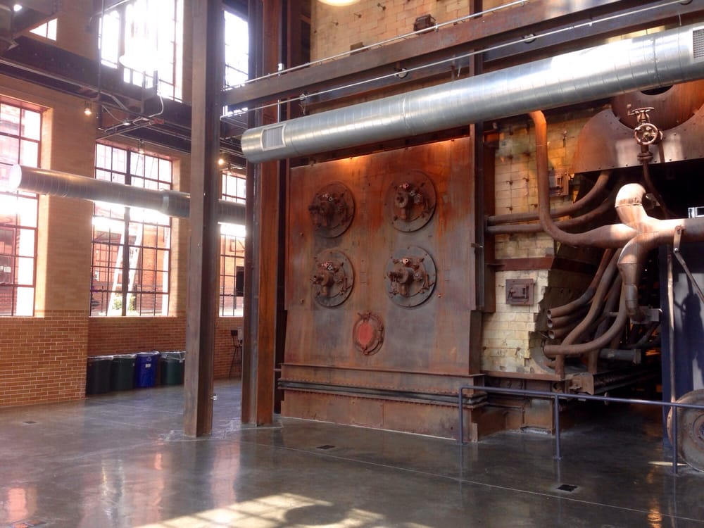 Amazing sites inside the boiler room. - Yelp