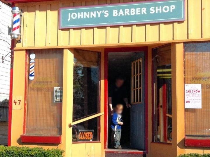 Johnny's Barber Shop: Main, Livingston Manor, NY