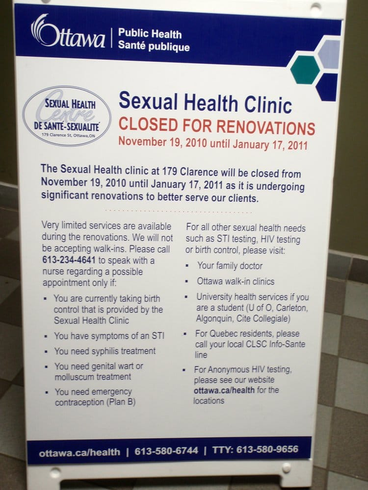 The Sexual Health Centre - Medical Clinics - 179 Clarence St, Ottawa, ON -  Phone Number - Yelp