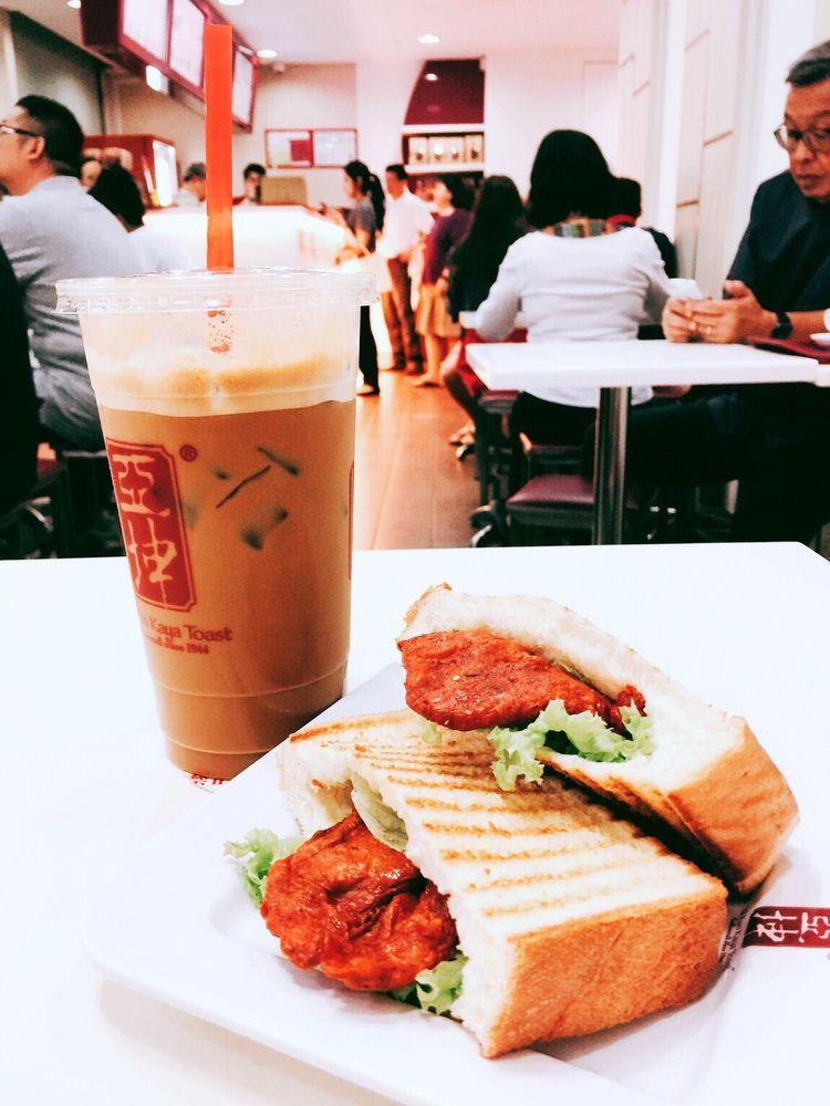 Ya Kun Toastwich Singapore
