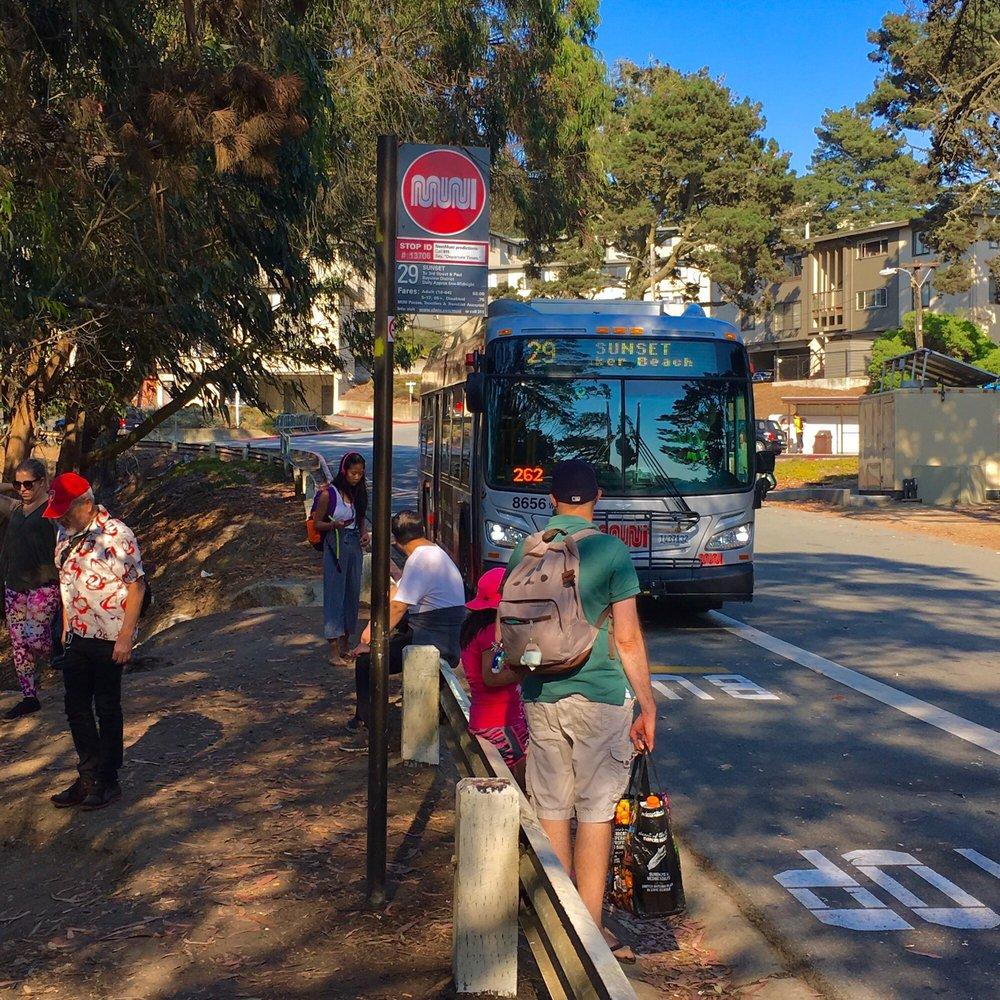 public transportation in california