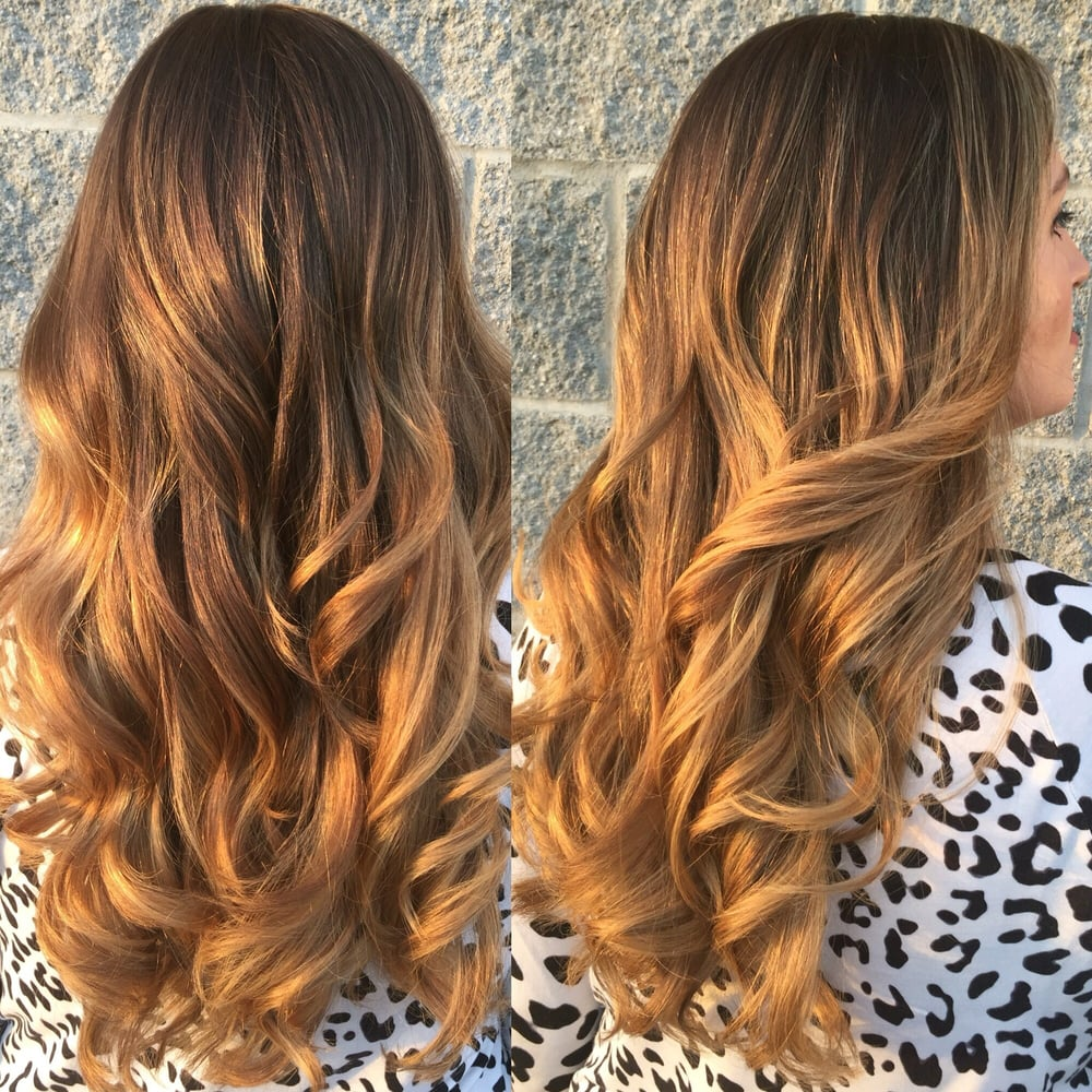 From Washed Out Ombre To Warm Caramel Balayage Highlights Color