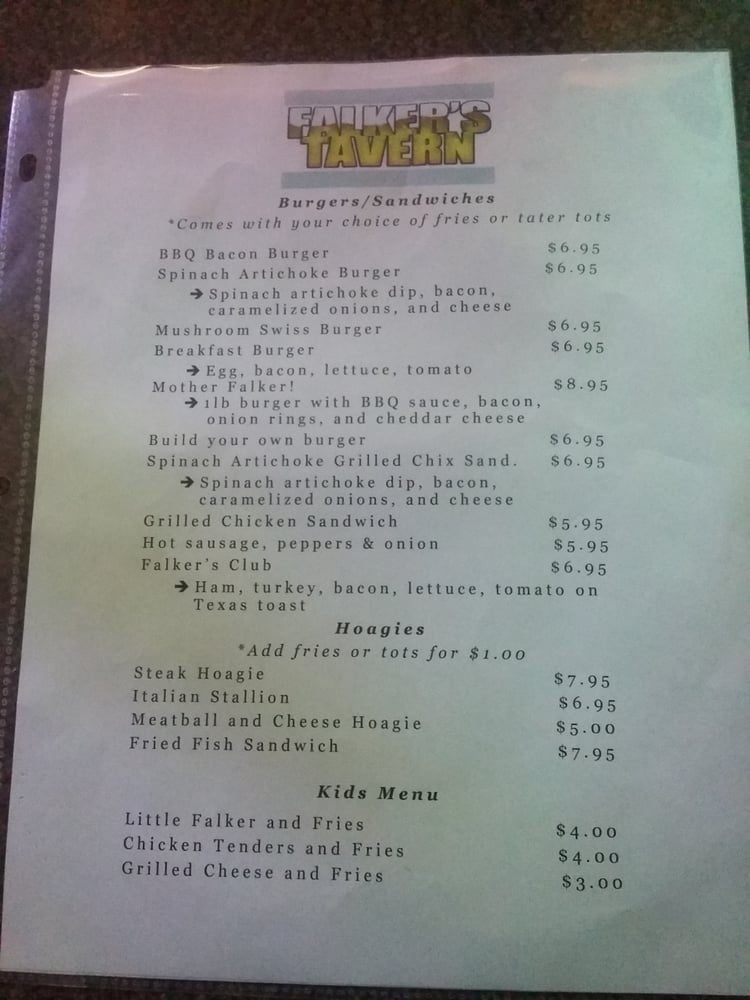 Falkers Tavern: 721 Walnut Ave, Clairton, PA