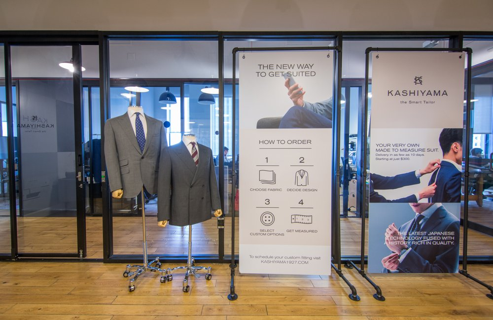 KASHIYAMA the Smart Tailor: 85 Broad St, New York, NY
