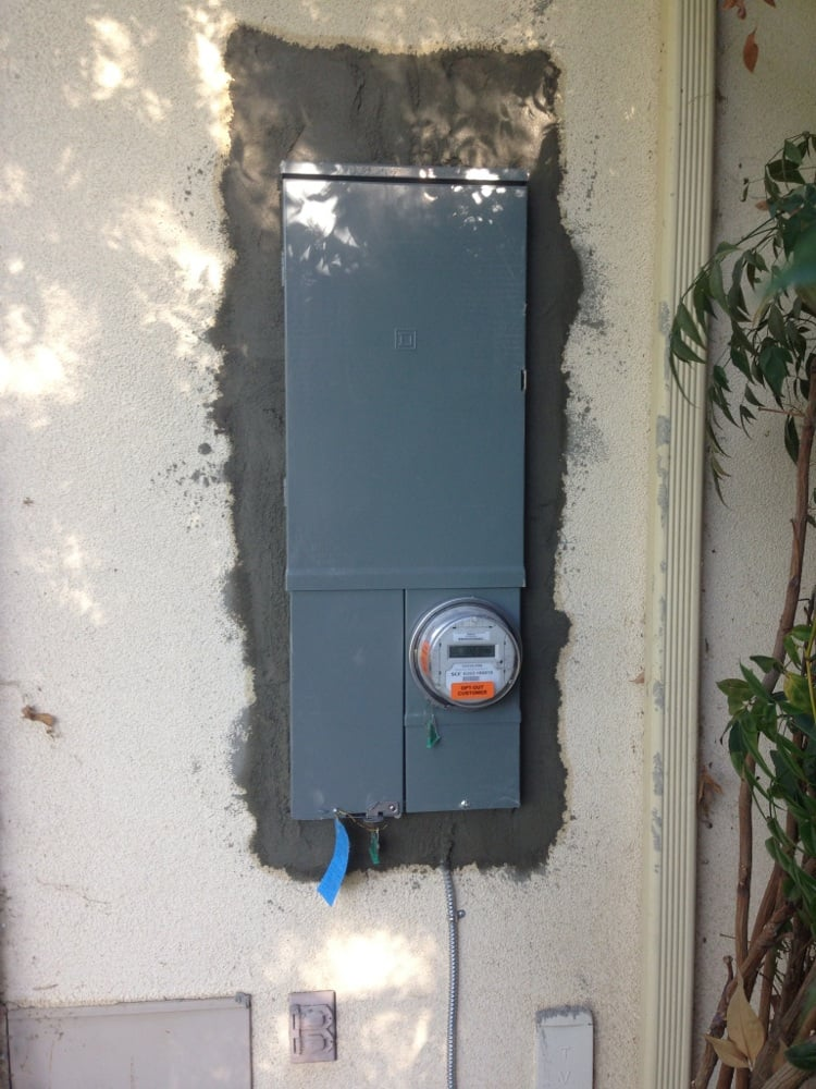 Upgrade Service Panel From 200 Amp To 225 Amp Solar Ready