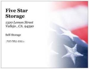 5 Star Storage: 1320 Lemon St, Vallejo, CA