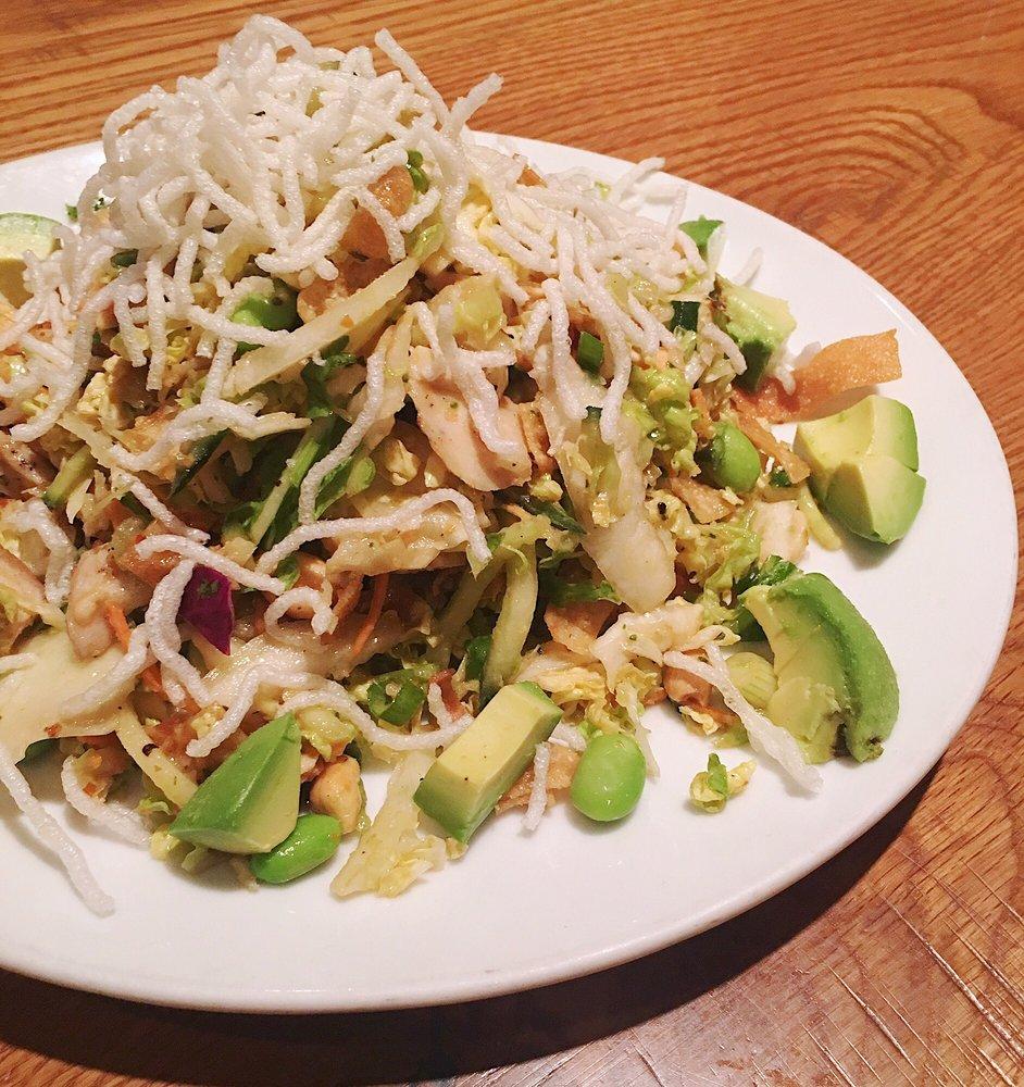 California Pizza Kitchen Yelp: $12.59 THAI CRUNCH SALAD + $3.50 Fresh Avocado