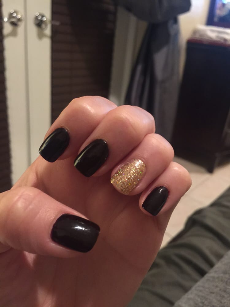 Natural thin rounded acrylic gel nails by Min!! - Yelp