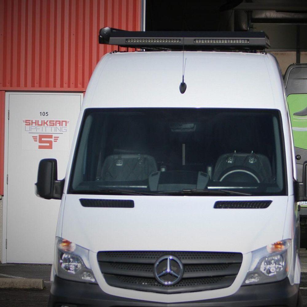 Shuksan Upfitting - Mercedes Sprinter® Conversion Van Upfitter and
