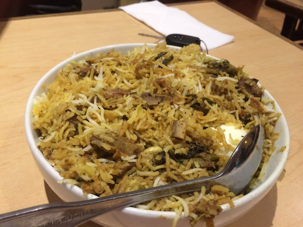 Best authentic hyderabadi mutton dum biriyani in us i bet for Annapurna indian cuisine