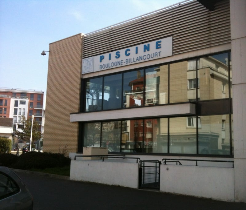 As seen from the road yelp - Piscine carrelage gris boulogne billancourt ...