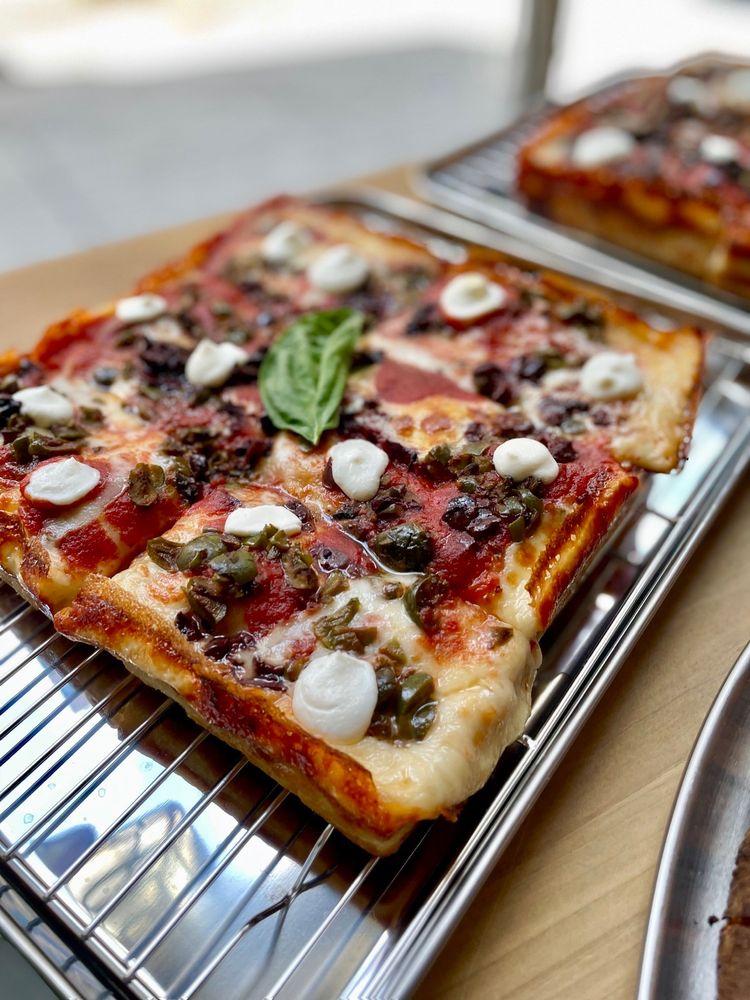 Sunset Squares Pizza