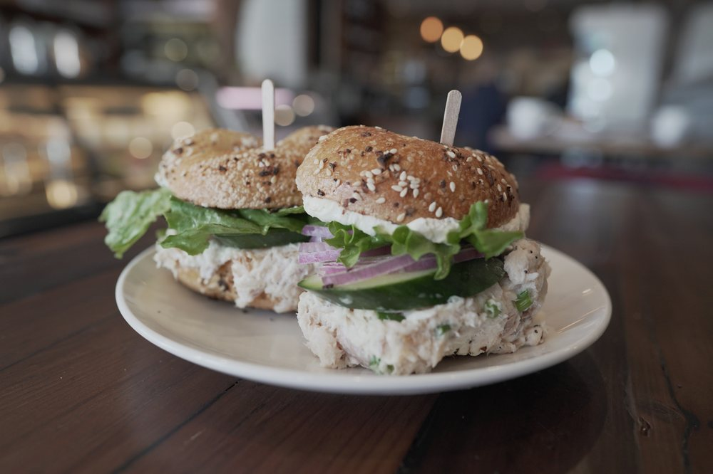 Food from up-RYES Bagel & Deli