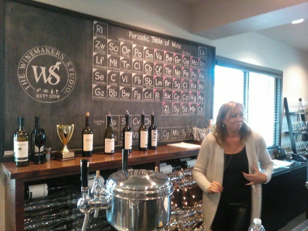 Wine Makers Studio Periodic Table Of Grape Varietals Yelp