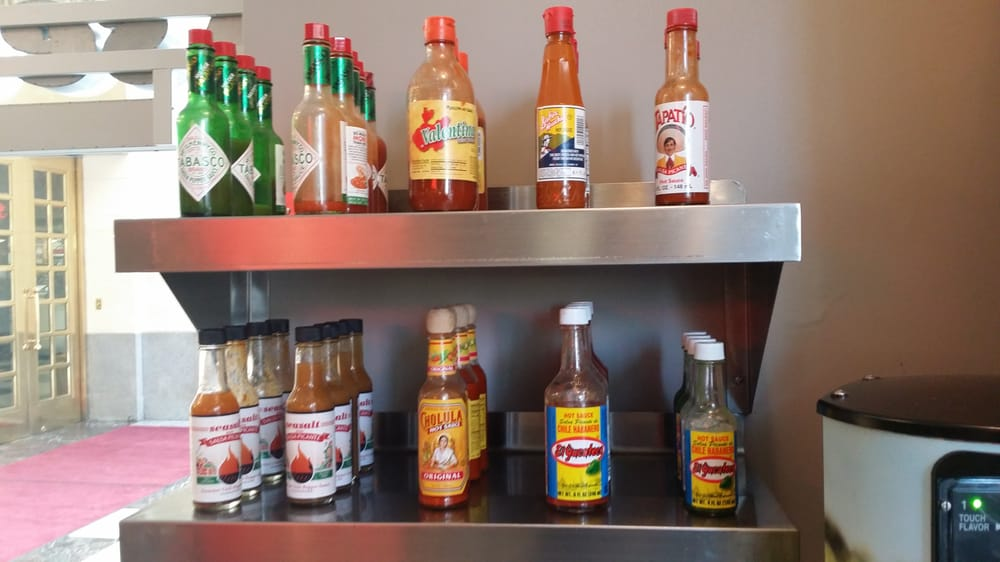 Hot sauces in formation yelp for Seasalt fish grill