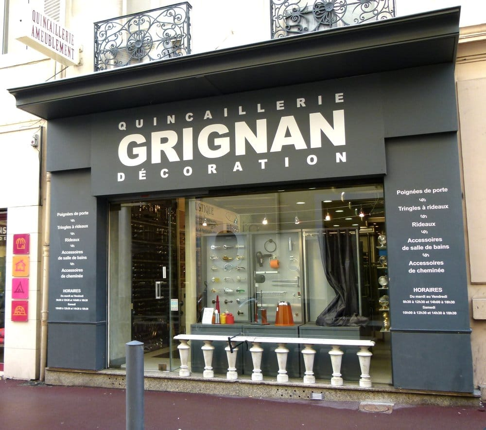 la quincaillerie grignan magasins de bricolage 37 rue. Black Bedroom Furniture Sets. Home Design Ideas
