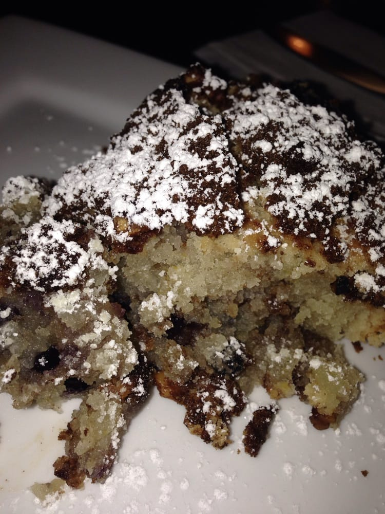 Fresh blueberry coffee cake right out of the oven - Yelp