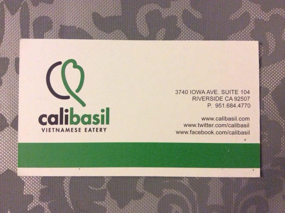Calibasil Business Card Yelp