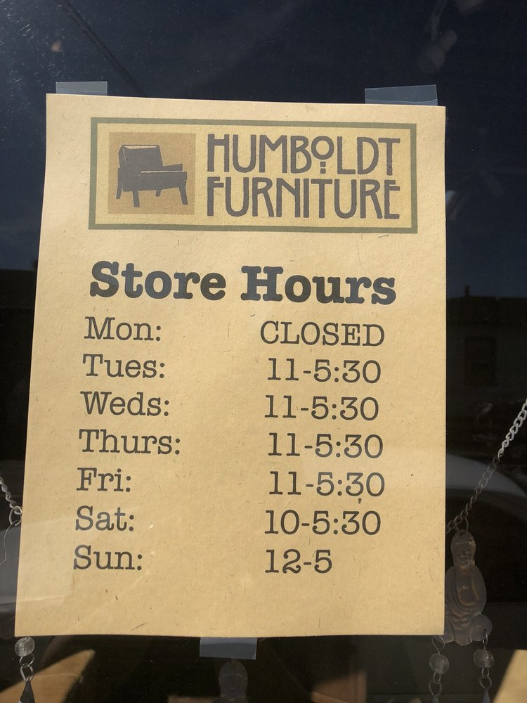 Humboldt Furniture: 1085 K St, Arcata, CA